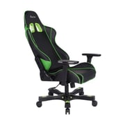 Clutch Chairz Crank Series Delta Gaming/Computer Chair, Black and Green