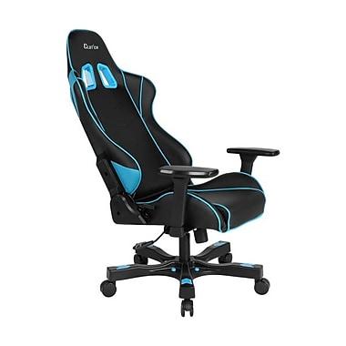 Clutch Chairz – Chaise de jeu et d'ordinateur Delta Crank, noir et bleu