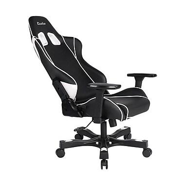 Clutch Chairz – Chaise de jeu et d'ordinateur Delta Crank, noir et blanc