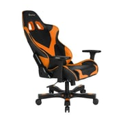 Clutch Chairz Crank Series Echo Gaming/Computer Chair, Black and Orange