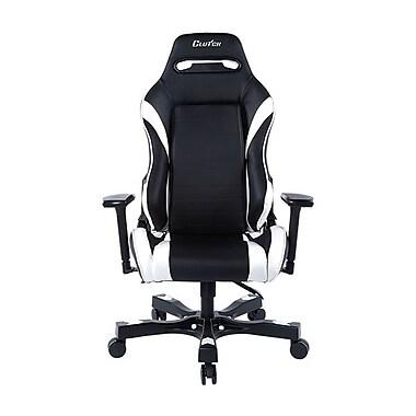 Clutch Chairz – Chaise de jeu et d'ordinateur Alpha Gear, noir et blanc