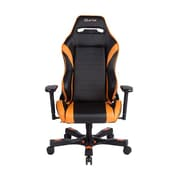 Clutch Chairz Gear Series Alpha Gaming/Computer Chair, Black and Orange