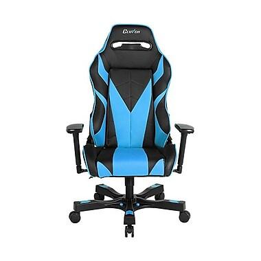 Clutch Chairz – Fauteuil de jeu ou d'ordinateur série Gear-Bravo, noir et bleu