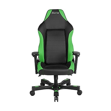 Clutch Chairz Shift Series Alpha Gaming/Computer Chair, Black and Green