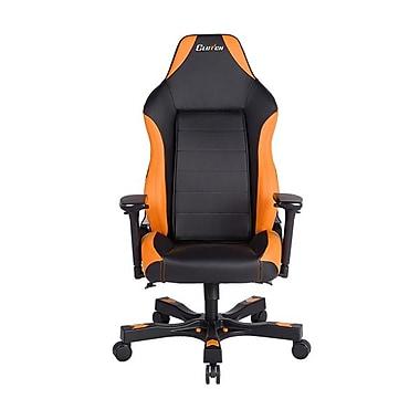 Clutch Chairz – Fauteuil de jeu ou d'ordinateur série Shift-Alpha, noir et orange