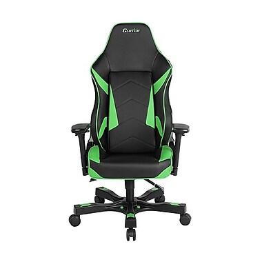 Clutch Chairz – Fauteuil de jeu ou d'ordinateur série Shift-Bravo, noir et vert