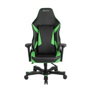 Clutch Chairz Shift Series Bravo Gaming/Computer Chair, Black and Green
