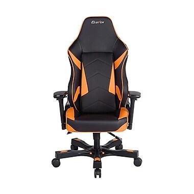Clutch Chairz – Chaise de jeu et d'ordinateur Bravo Shift, noir et orange