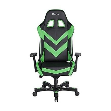 Clutch Chairz – Chaise de jeu et d'ordinateur Charlie Throttle, noir et vert