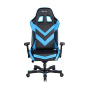 Clutch Chairz Throttle Series Charlie Gaming/Computer Chair, Black and Blue