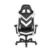 Clutch Chairz Throttle Series Charlie Gaming/Computer Chair, Black and White