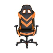 Clutch Chairz Throttle Series Charlie Gaming/Computer Chair, Black and Orange