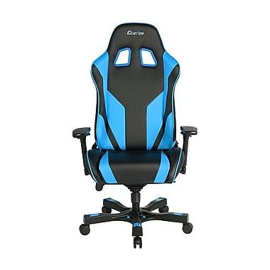 Clutch Chairz – Chaise de jeu et d'ordinateur Echo Throttle, noir et bleu