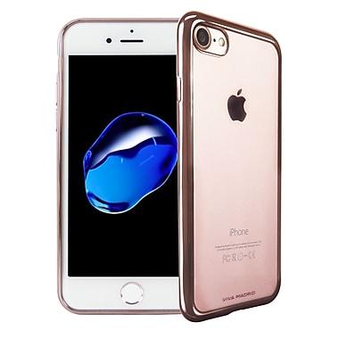 Viva Madrid – Étui souple Metalico pour iPhone 7, or rose (VIVAIP7BCMFXRGD)