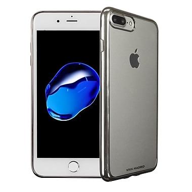 Viva Madrid – Étui souple Metalico pour iPhone 7 Plus, argent ardent (VIVAIP7PBCMFXSI)