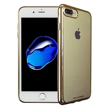 Viva Madrid – Étui souple Metalico pour iPhone 7 Plus, or Champagne (VIVAIP7PBCMFXCG)
