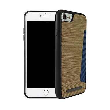 Viva Madrid Atleta Card Case for iPhone 7, Polo Brown/Blue (VIVAIP7CCATLBWN)
