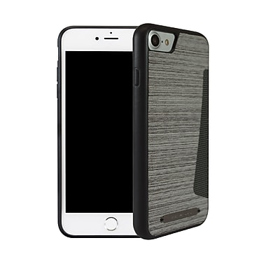 Viva Madrid Atleta Card Case for iPhone 7, Parkour White/Charcoal Grey (VIVAIP7CCATLWHT)