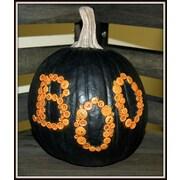 Craft-Tex Medium ''Boo'' Pumpkin; Black
