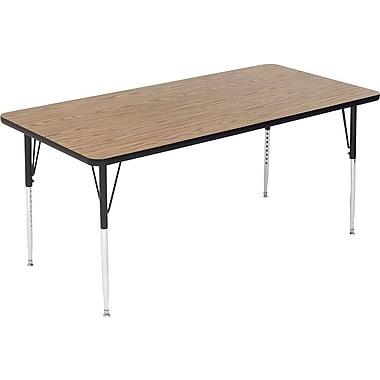 Correll, Inc. Rectangular Activity Table; 24 x 48