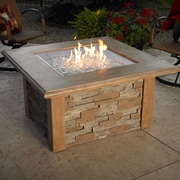 The Outdoor GreatRoom Company Sierra Gas Firepit Table