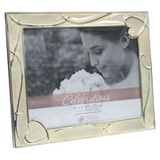 Timeless Frames Enameled Heart Scroll Picture Frame
