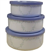 Corelle Country Cottage 3 Container Food Storage Set