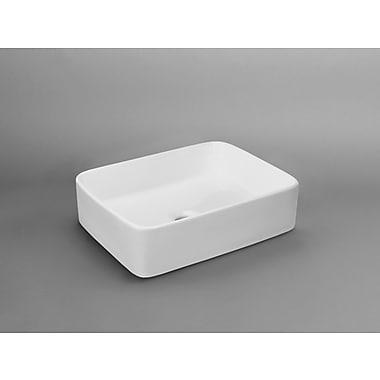 Ronbow Merit Rectangular Vessel Bathroom Sink