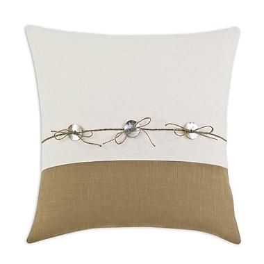 Brite Ideas Living Saxony Barley Piece Horizontal Cotton Throw Pillow