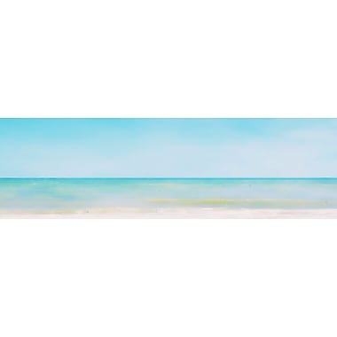 Graffitee Studios General Coastal Be Still and Breathe Deep Graphic Art on Wrapped Canvas