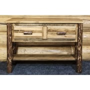 Montana Woodworks  Glacier Country Entry Table