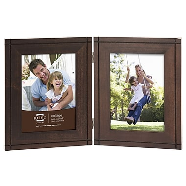 Prinz 2 Opening Dryden Hinged Wood Picture Frame