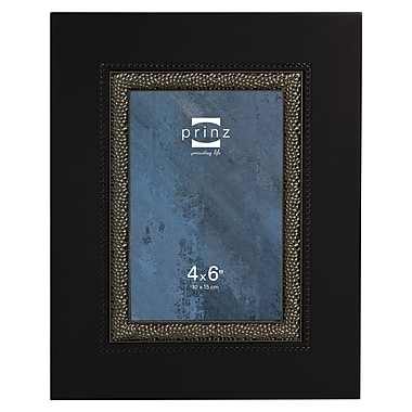 Prinz Vanderbilt Wood Picture Frame; Black