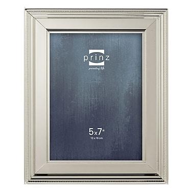 Prinz Clybourn Metal Picture Frame; 5'' x 7''