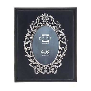Prinz Marquis Solid Wood Picture Frame; Black
