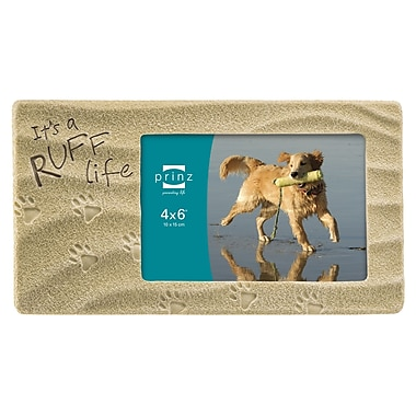 Prinz Sandy Sentiments 'It's a Ruff Life' Picture Frame