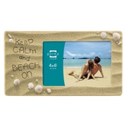 Prinz Sandy Sentiments 'Keep Calm And Beach On' Picture Frame
