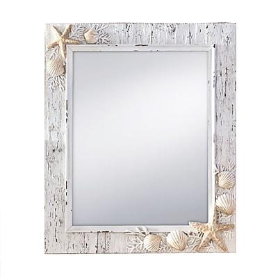 Prinz Rectangle Sand Piper Wall Mirror; 11''