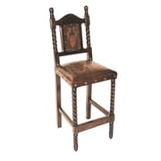 New World Trading Colonial Bar Stool; Antique Rustic