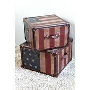 International Caravan Americana Trunk (Set of 2)