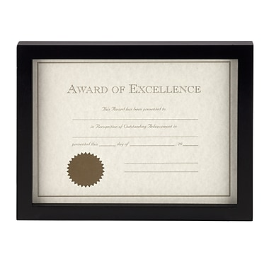 Prinz Carolina Solid Wood Certificate Picture Frame