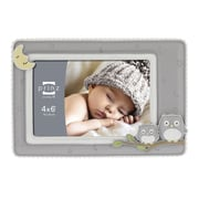 Prinz Sweet Dreams 'Owl' Resin Picture Frame; Gray