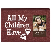 Prinz Talk To The Paw 'All My Children Have Paws' Photo Plaque Picture Frame