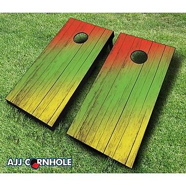 AJJCornhole 10 Piece Cornhole Set; Red/Navy