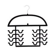 Axis International Flocked 2 Piece Tank Top Hanger Set