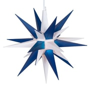 Kringle Traditions LED Moravian Star; White/Blue