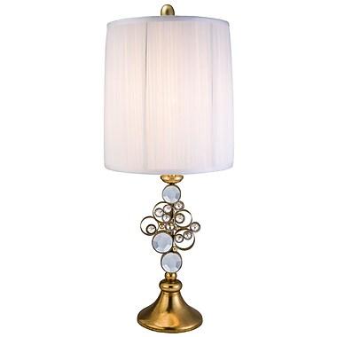 OK Lighting 28.25'' Table Lamp; Gold