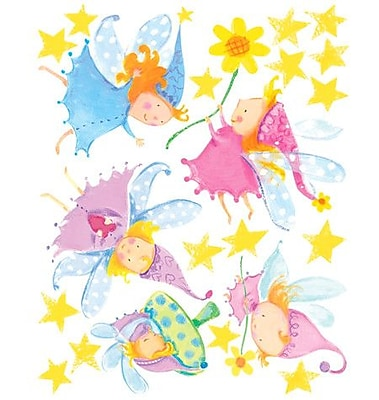 Wallies Cute Fairies Wall Decal