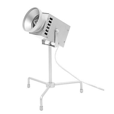 MacMeridian 11'' Table Lamp; Silver