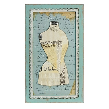American Mercantile Dress Form Sign Graphic Art